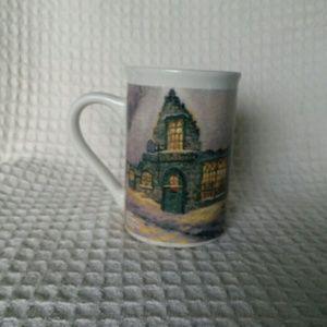 Thomas Kinkade Olde Porterfield Gift Shoppe Mug